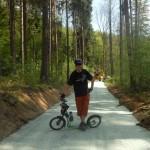 budoucí cyklostezka na bobravě